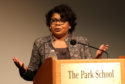 News: White House Correspondent April Ryan Addresses Students as 2017-18 Weinberg Resident Journalist