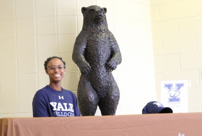 Featured News: Senior Kenya Boston Commits to Play Lacrosse at Yale University