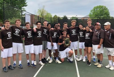 Featured News: Boys' Varsity Tennis Wins MIAA B Conference Championship!