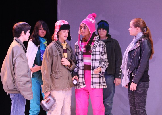 2016 8th Grade Production Snow Angel 183 The Park School Of