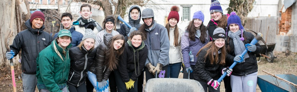 Civic Engagement and Service Learning in the Upper School