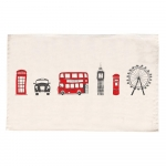 London Skyline Tea Towel 2