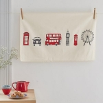 London Skyline Tea Towel 1