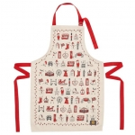 London Christmas Children's Apron 1