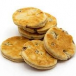 welsh cakes stack