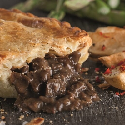 Frys Pepper Steak Pie