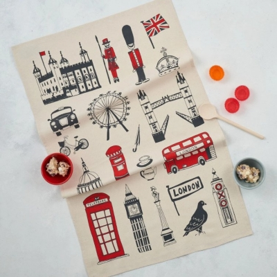 Big Smoke Tea Towel
