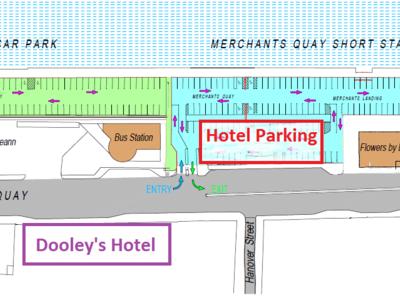 Merchants quay hotel parking