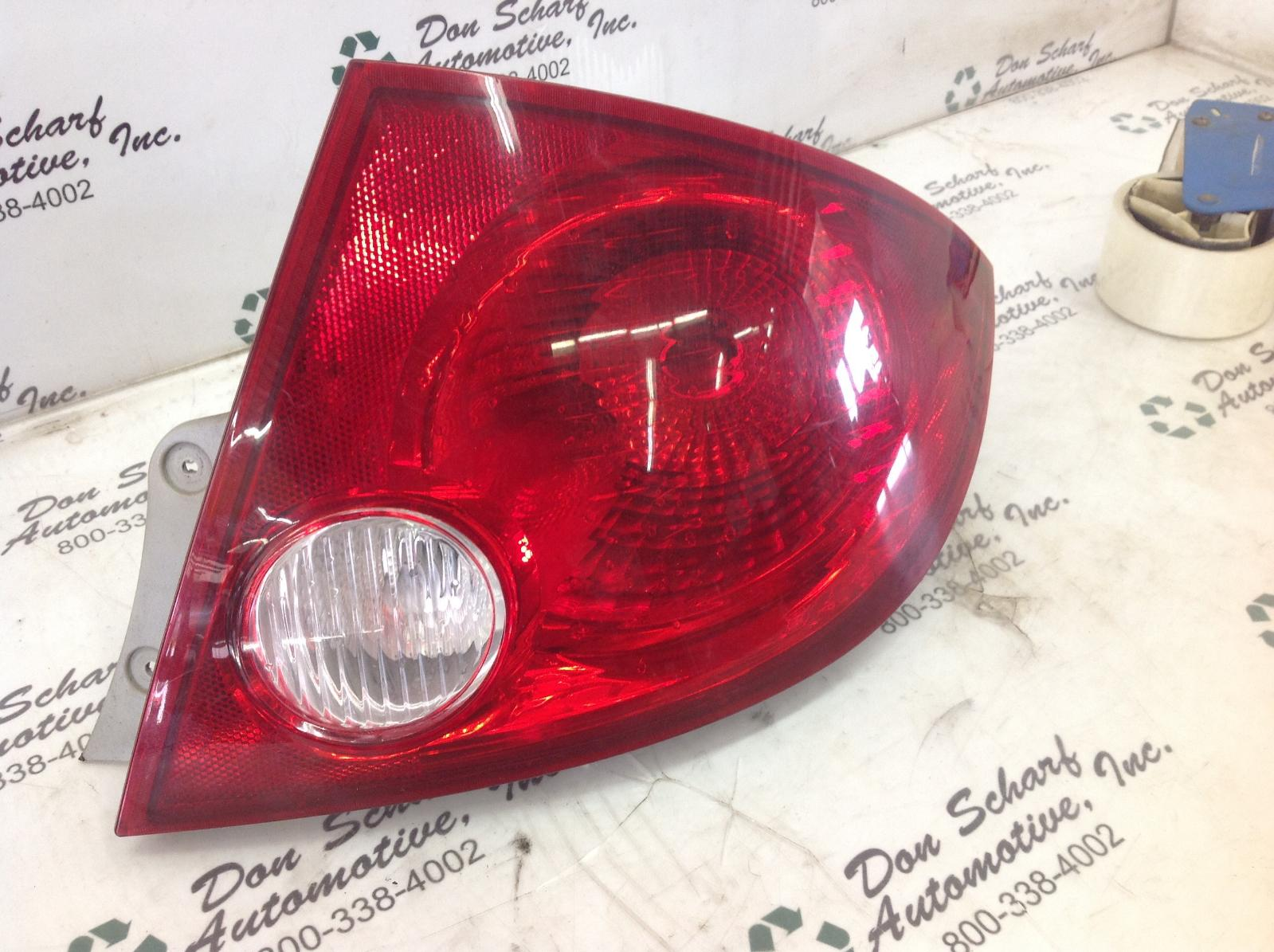 used tail light right passenger for sale for a 2006. Black Bedroom Furniture Sets. Home Design Ideas