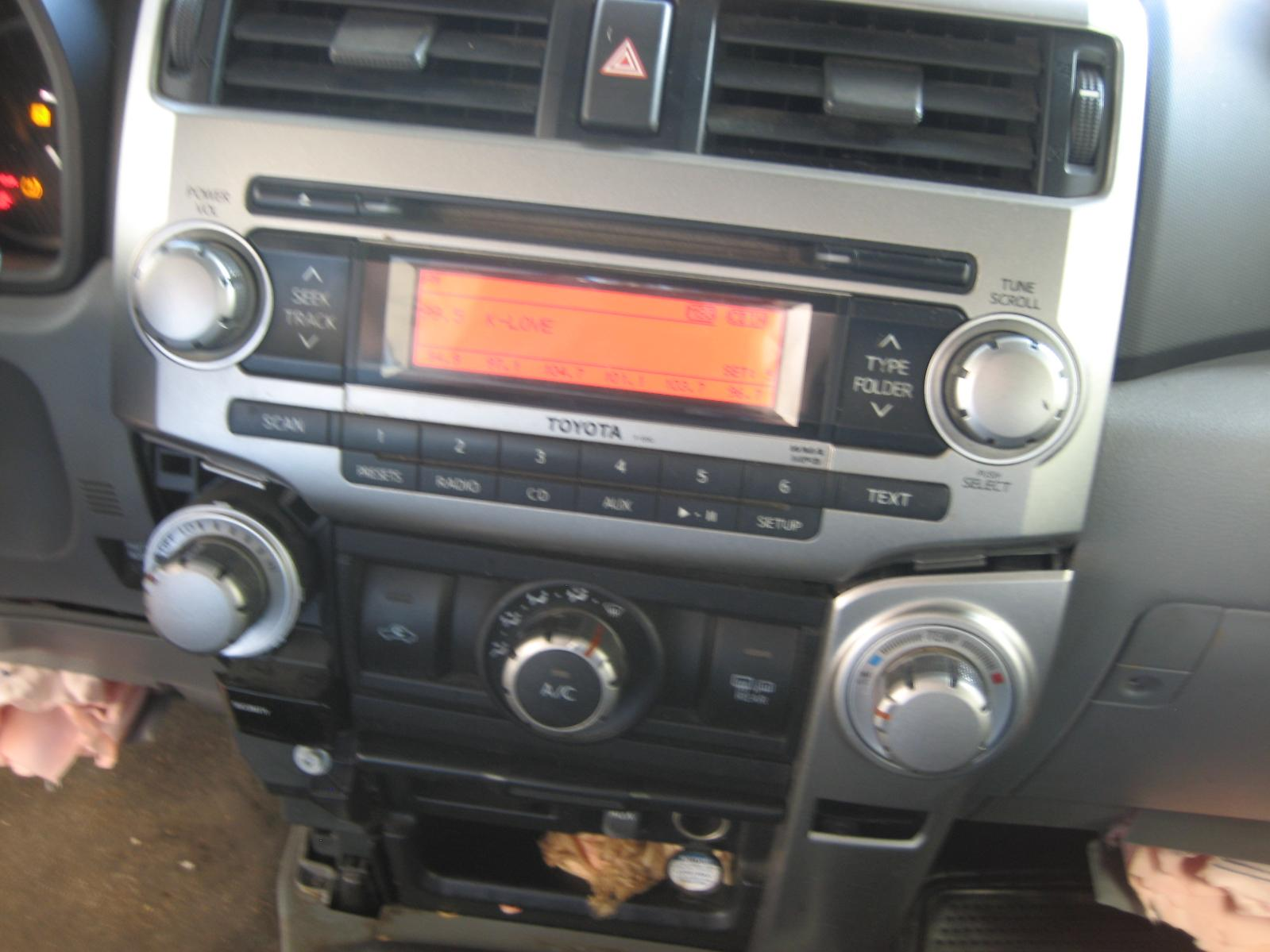 Used Audio Visual System  Radio  For Sale For A 2012 Toyota 4runner