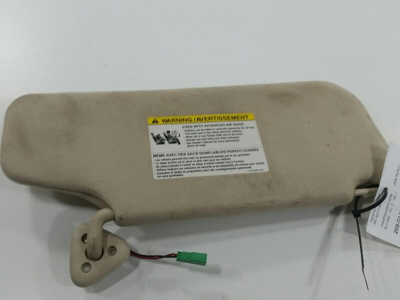 Used Sun Visor Left Driver For Sale For A 2008 Mercury