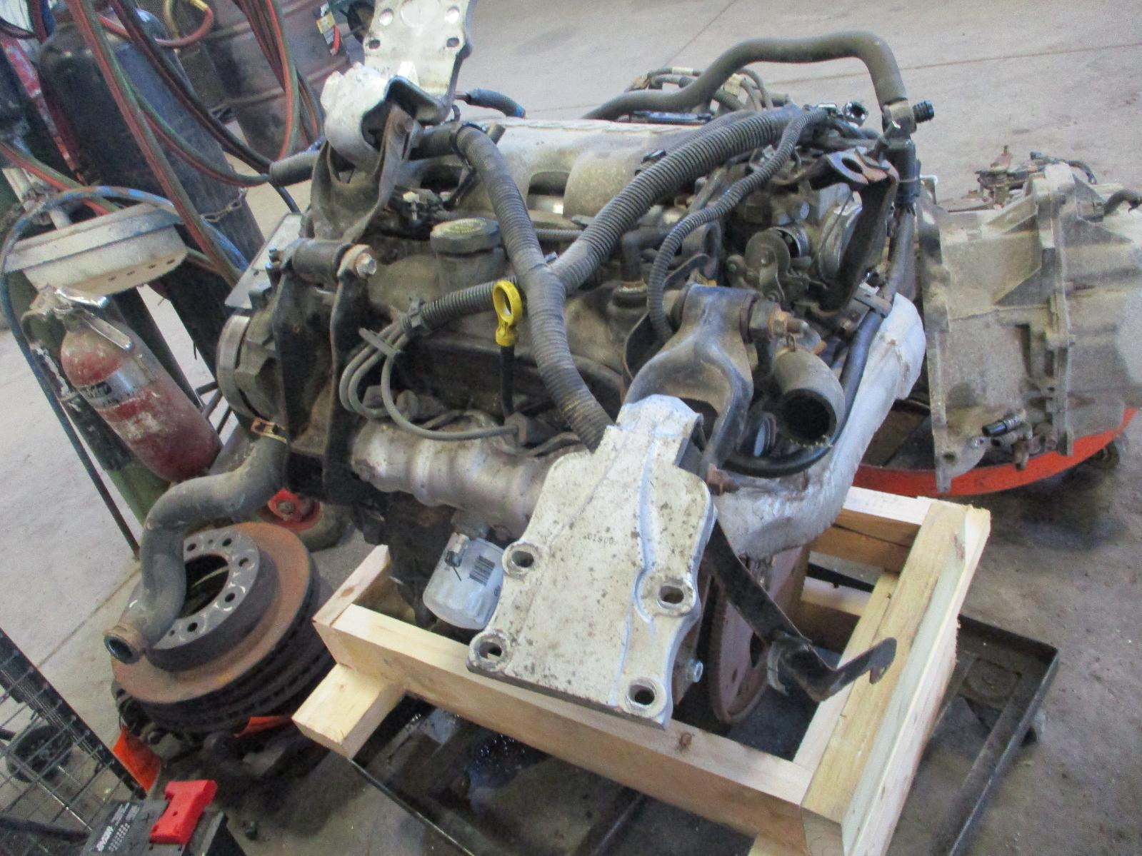 Used Engine Assembly For Sale For A 2002 Pontiac Aztek