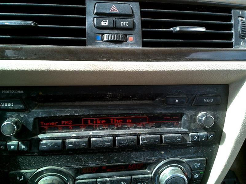used audio visual system radio for sale for a 2009 bmw. Black Bedroom Furniture Sets. Home Design Ideas