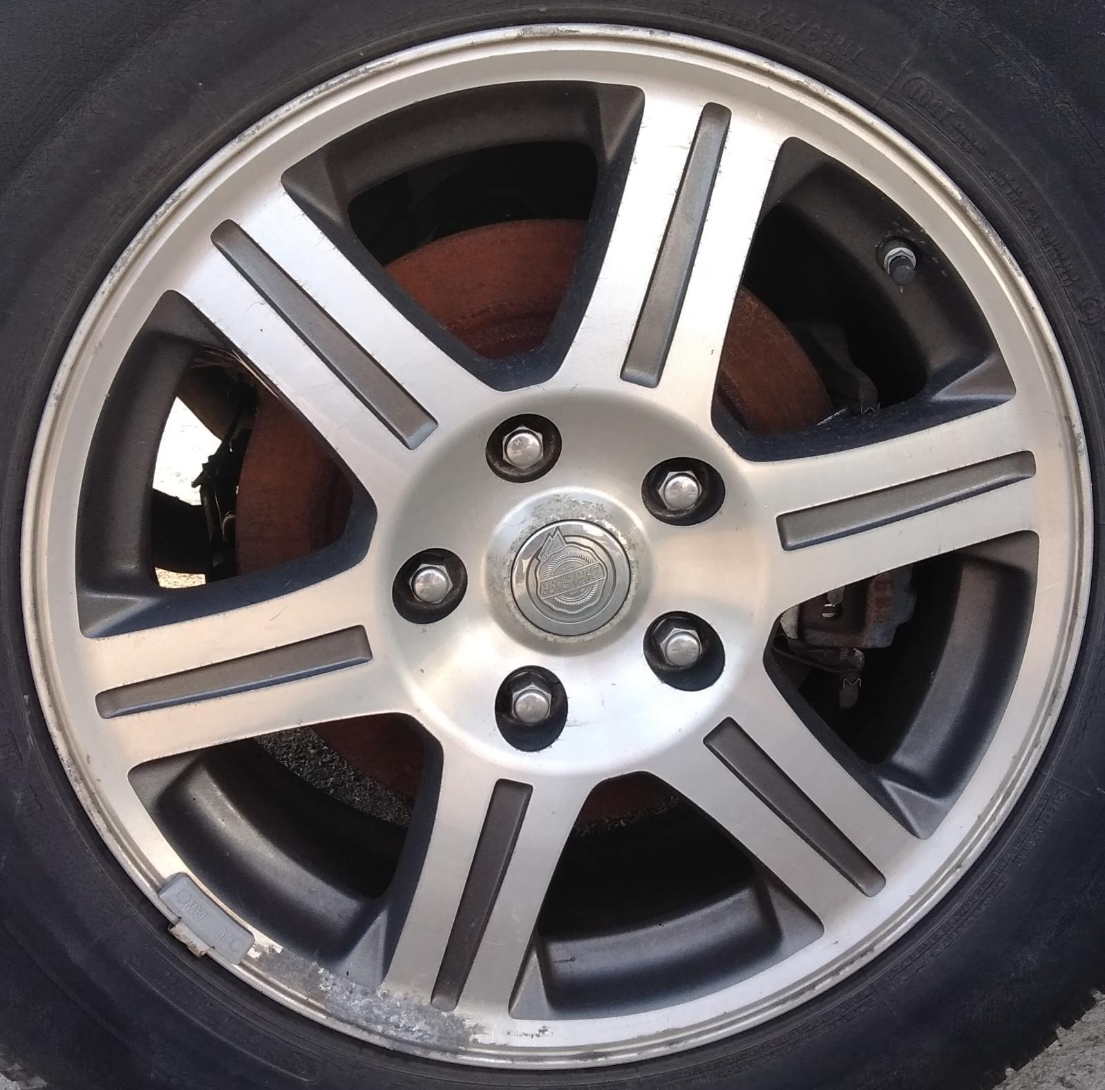 Chrysler Pacifica Rims For Sale: Used Wheel For Sale For A 2008 Chrysler Pacifica