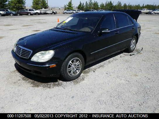 2001 mercedes benz s430 used parts car