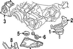 Engine%20Mounts on 2005 Chrysler Pacifica Motor Mount Locations