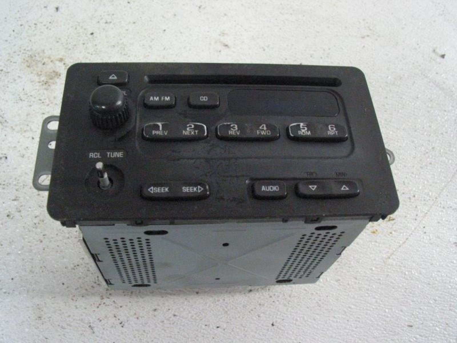 2003 Chevy Cavalier Radio Wiring Diagram