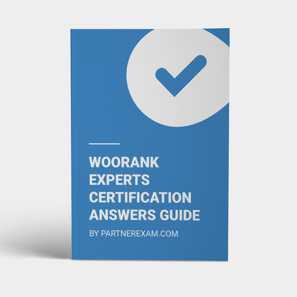 WooRank Certification Answers Guide · PartnerExam