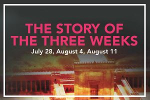 The Story of the Three Weeks Part I