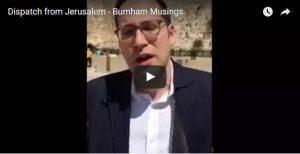 Dispatch from Jerusalem – Parshat Shemini 5776