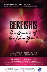 Bereishis: The Genesis of the New You; Part 3