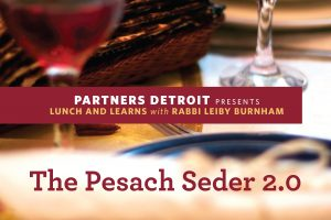 The Seder Out of Order Part I
