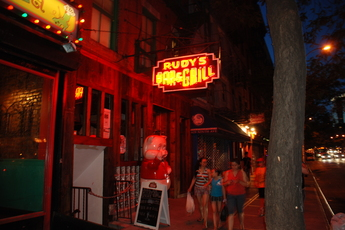 Rudy's Bar & Grill, Hell's Kitchen, New York | Party Earth