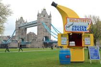 Bluth's Original Frozen Banana Stand - Ice Cream Shop in London.