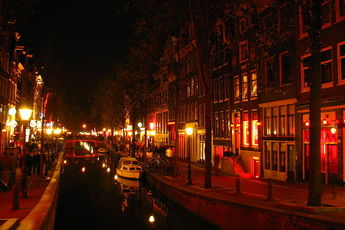 The Red Light District is by far Amsterdam's funkiest hood.