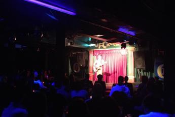 Open Mic Night at Up the Creek - Stand-Up Comedy in London.
