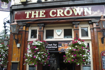 The Crown - Pub in London.