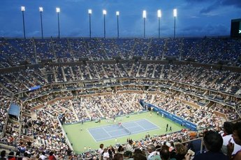 Arthur Ashe Stadium (Flushing, NY) - Stadium in New York.