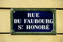 Rue du Faubourg Saint-Honoré - Outdoor Activity | Shopping Area in Paris.