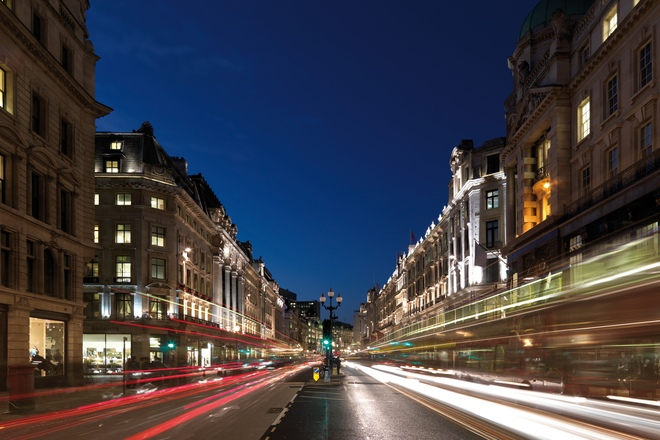 Photo of Oxford Street and Regent Street