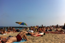 Bogatell Beach - Beach in Barcelona.