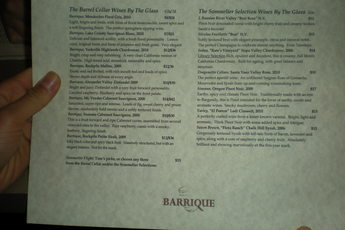 Barrique - Wine Bar in San Francisco.