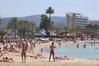Beaches in San Antonio, Ibiza