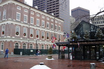 Faneuil Hall - Landmark | Nightlife Area | Outdoor Activity | Shopping Area in Boston.