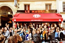 Le Mauri7 - Bar in Paris.