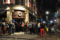 The O Bar - Bar in London.