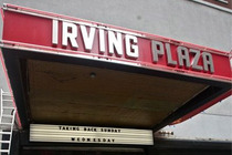 Irving Plaza - Concert Venue in New York.