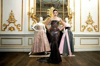 Ballgowns: British Glamour Since 1950 - Art Exhibit in London.