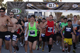 Los Angeles 13.1 Marathon - Running in Los Angeles.