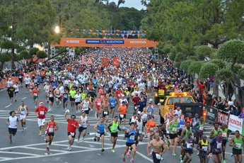 LA Marathon - Running in Los Angeles.