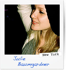 Julie Baumgardner, New York