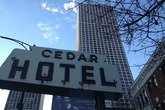The Cedar Hotel - Bar | Beer Garden | Restaurant in Chicago.