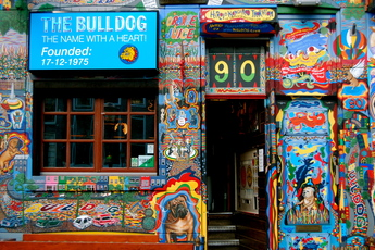 The Bulldog Coffeeshop nr. 90 - Coffeeshop in Amsterdam.