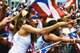 National Puerto Rican Day Parade - Parade in New York.