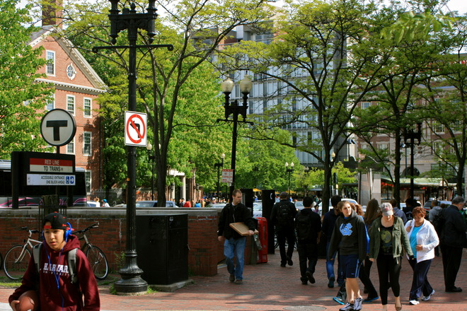 Photo of Harvard Square