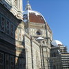 Snow on top of the Duomo in Florence.
